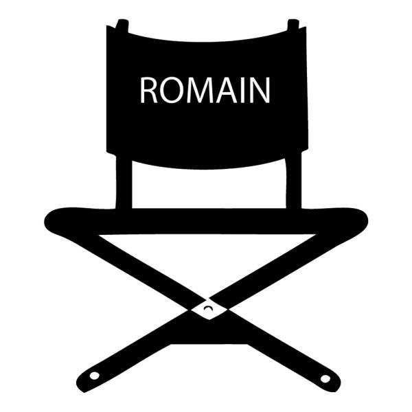 Stickers chaise de cin ma personnalis france stickers - Chaise de cinema pas cher ...