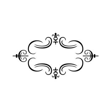 stickers Cadre Baroque 9