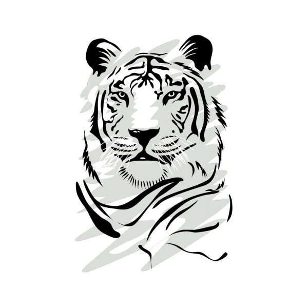 Stickers Tigre ·.¸¸ FRANCE STICKERS Table Knife Png