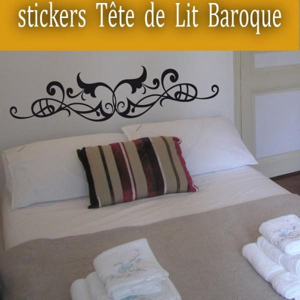 sticker t te de lit france stickers. Black Bedroom Furniture Sets. Home Design Ideas
