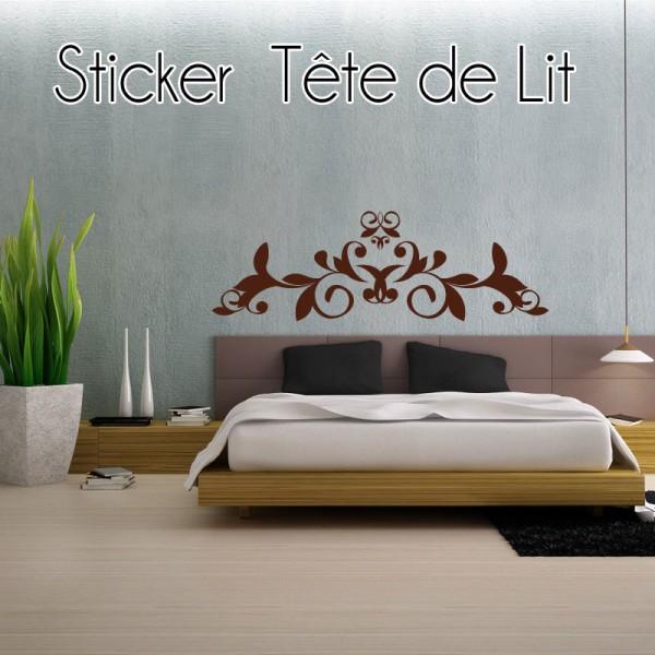tete de lit stickers pas cher. Black Bedroom Furniture Sets. Home Design Ideas