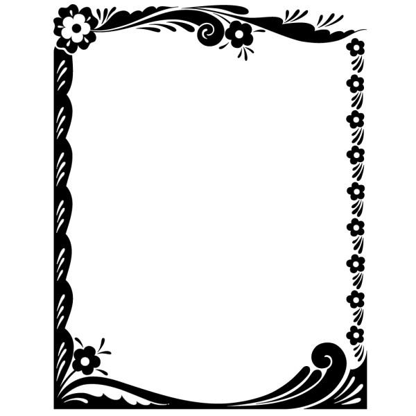 stickers cadre baroque france stickers. Black Bedroom Furniture Sets. Home Design Ideas