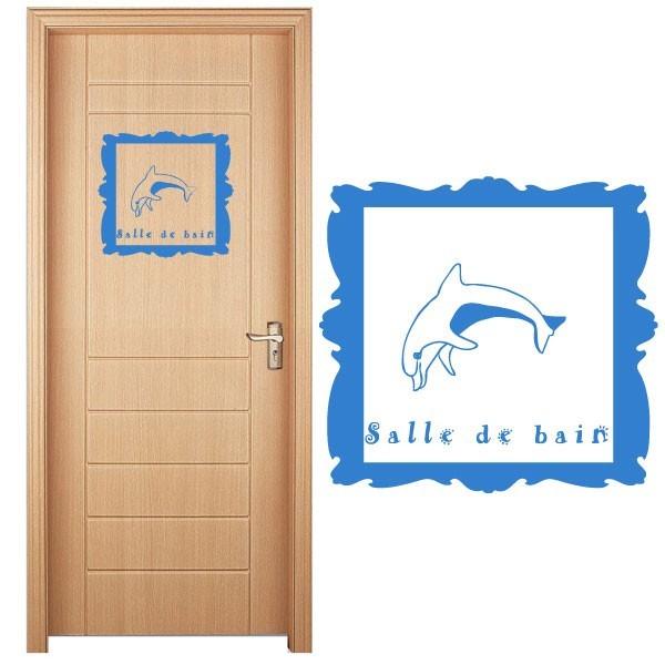 Sticker dauphin salle de bain france stickers for Stickers miroir salle de bain