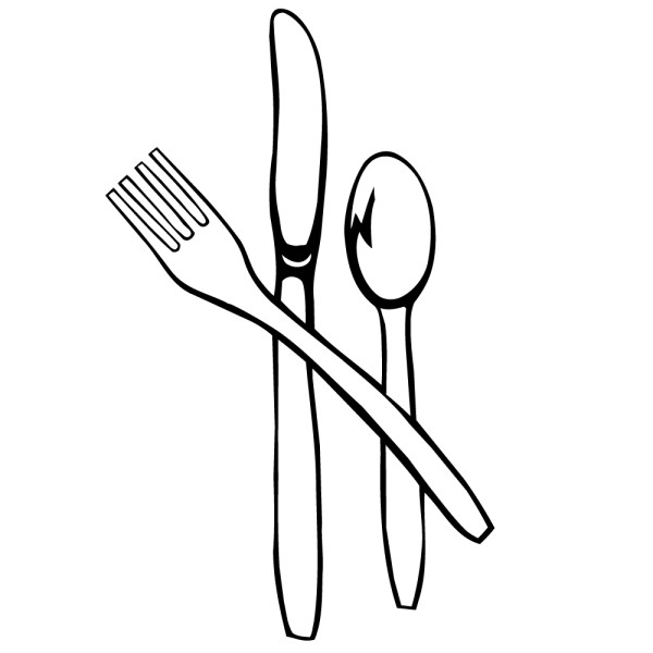 Stickers couverts cuisine france stickers - Couvert de cuisine ...