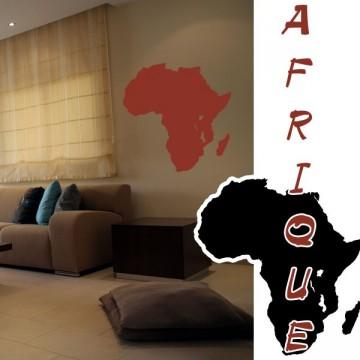 stickers Carte Afrique + Madagascar