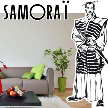 stickers Samouraï 2