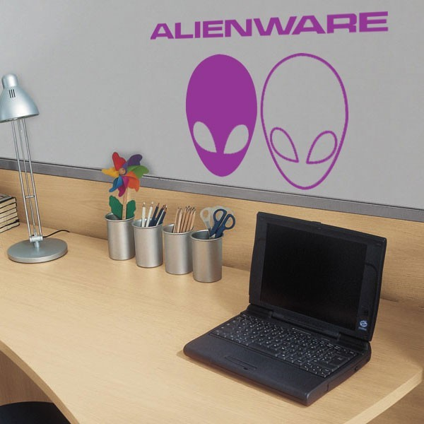 Stickers autocollant alienware pas cher france for Converse logo interieur ou exterieur