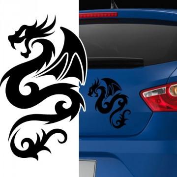 Stickers Autocollant Dragon 9