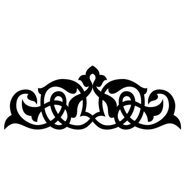 Stickers t te de lit baroque france stickers - Tete de lit baroque ...