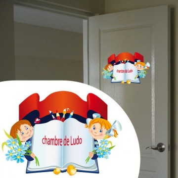 sticker Porte personnalisé 3
