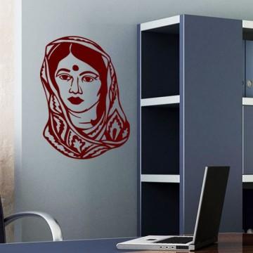 Stickers Jeune Femme Indou