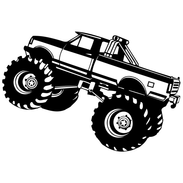 stickers monster truck pas cher france stickers. Black Bedroom Furniture Sets. Home Design Ideas