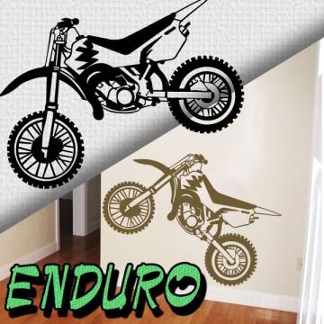 Stickers Autocollant Moto Enduro