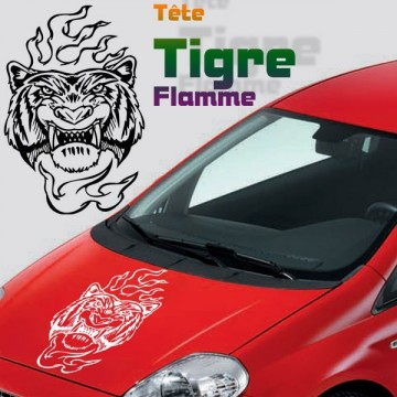 Stickers Tuning Tigre