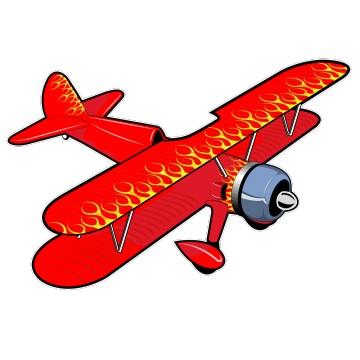 Stickers Avion 1