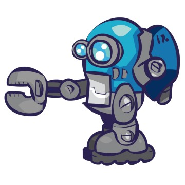 Stickers Robot 1
