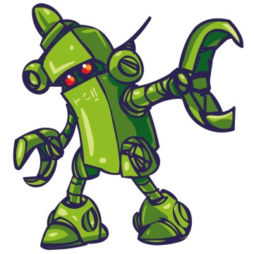 Stickers Robot 3