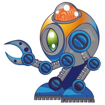 Stickers Robot 4