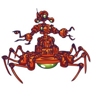 Stickers Robot 5