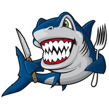 Stickers requin france stickers - Requin rigolo ...