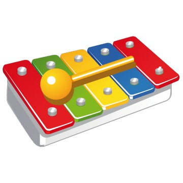 Stickers Xylophone 1