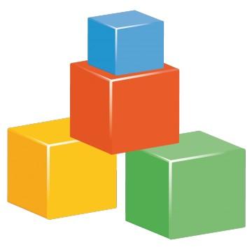 sticker Jeux de Cube 2