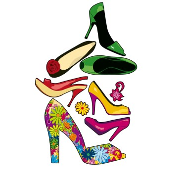 stickers Chaussures