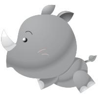 Rhini le bébé Rhino