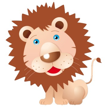 stickers Lion 5