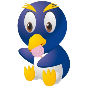 stickers Pingouin 3