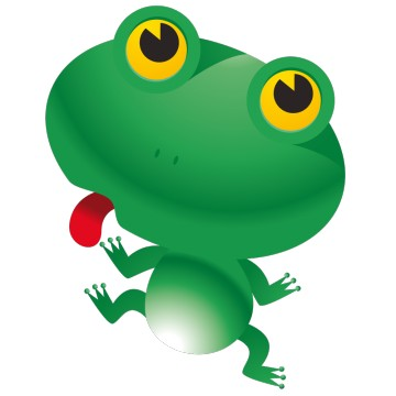 Stickers Grenouille 1
