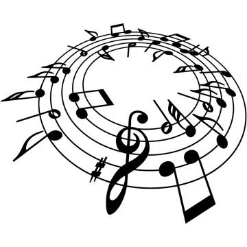 Stickers Partition de Musique
