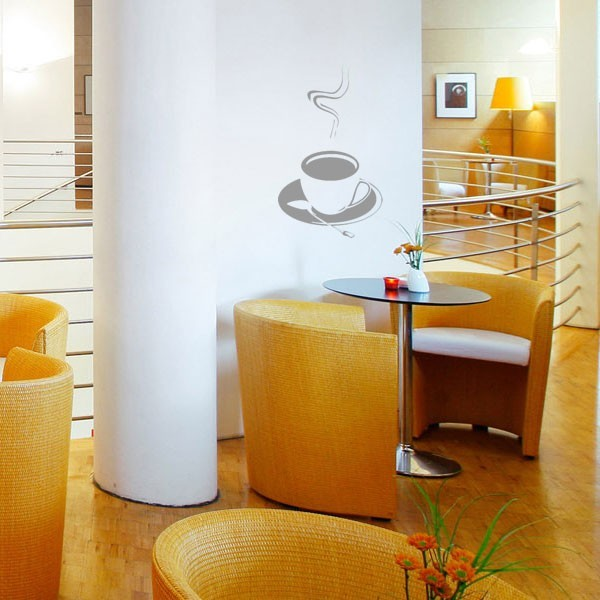 stickers tasse caf pas cher france stickers. Black Bedroom Furniture Sets. Home Design Ideas