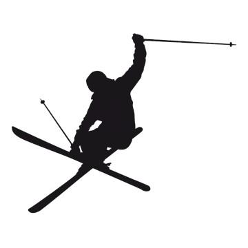 Stikers Skieur