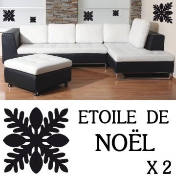 Stickers Flocon de Neige de Noël