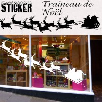 Stickers Traineau du Père Noël 1