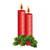 Bougies de Noël 1