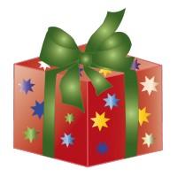 Cadeau de Noël Noeud Vert