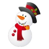 Bonhomme de Neige avec sa Pipe