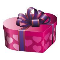 Cadeau de Noël Rose