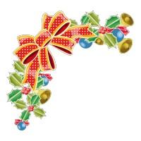 Demi Couronne de Noël
