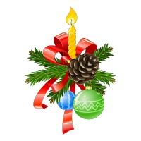 Bougie de Noël   3