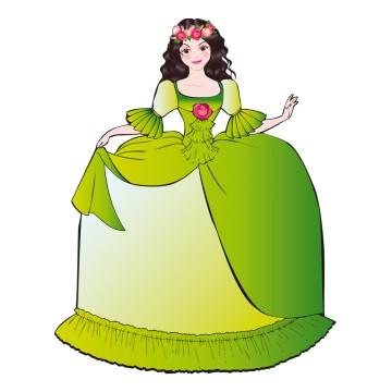stickers Princesse 3