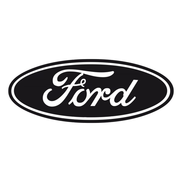 Black And White Ford: Sticker Logo Ford ?·.¸¸ FRANCE STICKERS