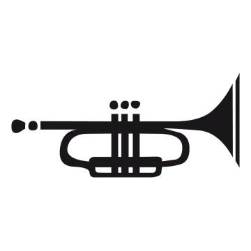 Stickers Trompette 1
