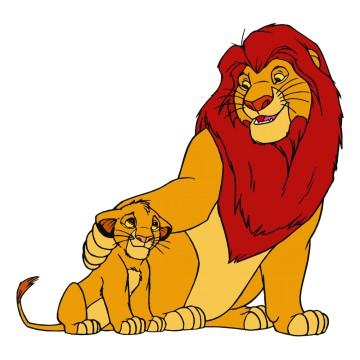 stickers Le Roi Lion