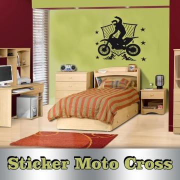 Stickers Autocollant Moto Cross