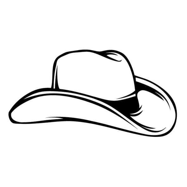 sticker chapeau de cowboy france stickers. Black Bedroom Furniture Sets. Home Design Ideas