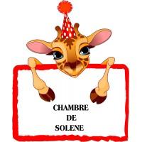Girafe personnalisable