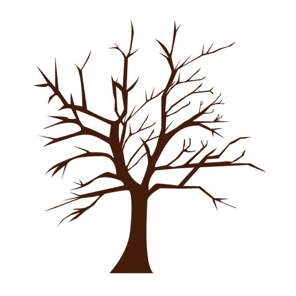 Stickers autocollant arbre pas cher france stickers - Dessin arbre nu ...